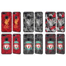 LIVERPOOL FC LFC DIGITAL CAMOUFLAGE BLACK GUARDIAN CASE FOR APPLE iPHONE PHONES