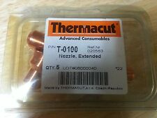 NEW Thermacut 80 Amp Extended Nozzles, 020563, T-0100