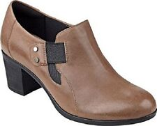 b626bdd43aa Easy Spirit Barral zip ankle boot bootie natural tan leather sz 10.5 Med NEW