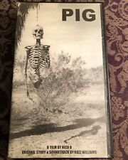 PIG Film Rozz Williams Nico B 75/1334 Limited Edition 1999 VHS Christian Death