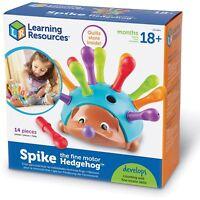 "Learning Resources Fine Motor Hedgehog Spike 9-1/10""x9-1/10""x3-9/10"" Multi"