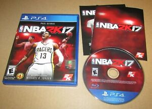 NBA 2K17 for Playstation 4 Fast Shipping