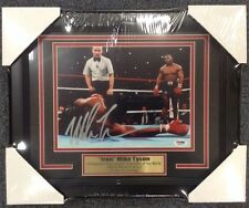 Mike Tyson Autographed Signed And Framed 8x10 Photo W/ PSA/DNA AUTH
