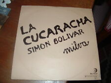 "MILVA "" LA CUCARACHA - SIMON BOLIVAR ""  ITALY'75"