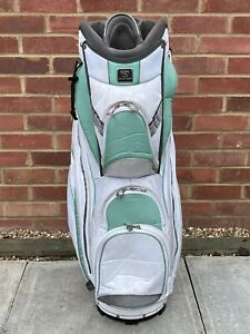 Wilson Staff Golf Carry / Cart Bag / 14-Way Divider - Used Good-Fair Condition