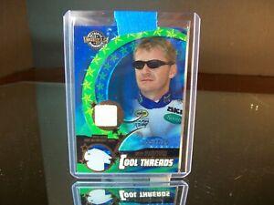 Jeff Burton Wheels Cool Threads Race-Used Shirt 2004 Card #CT 1 256/525