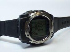 Very Rare Casio WQV-3 Mens Color Data Camera Digital Alarm Black Quartz Watch