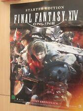 POSTER FINAL FANTASY XIV ONLINE TEDESCO PS4 STARTER EDITION 60x85
