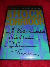 Shock Corridor (DVD, Signed/Autographed by Constance Towers)