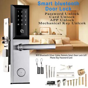 WiFi bluetooth Cipher Remote Lock Smart Door Phone Key Password Card + Gateway
