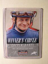 Calvin Borel Winner's Circle Die Cut Horse Racing Card 2015 Panini Americana