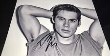 Dylan O'Brien Actor B&W Hand Signed 11x14 Autographed Photo COA
