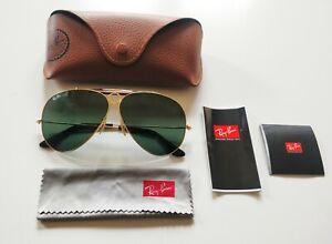 Ray-Ban Sunglasses RB3138 SHOOTER 181 gold green