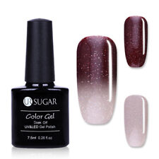 7.5ml Soak Off UV Gellack Nail Art Glitter Farbwechsel Maniküre Varnish UR SUGAR