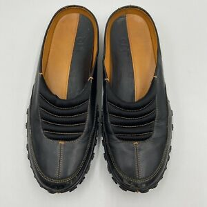 Nike Lab G Series Black Slide Slip On Loafer Mule Sz 8.5 Womens Comfort Vintage