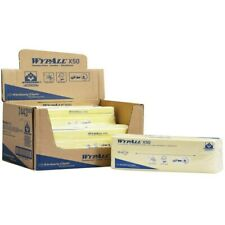 More details for wypall 7443 x50 yellow cleaning cloths - pack of 300