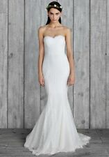 BHLDN Nicole Miller Perry Mermaid lace Wedding Bridal Gown GI10001 Sz 10 $1,400