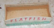 Flatfish Lure - Box Only Helin Tackle Co. Detroit