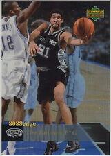 2006-07 UD RESERVE GOLD PARALLEL #171: TIM DUNCAN - NBA'S BEST POWER FORWARD