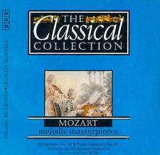 MOZART - PIANO CONCERTO 21: ANGELA GIULINI + SYMPHONY NO 40: RICHARD EDLINGER