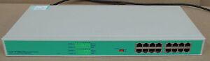 1U Rackmount 16-Port 10/100 RJ-45 Ethernet Smart Switch, Network Equipment,