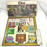 Clue Classic Detective Board Game 1972 Vintage Parker Brothers Complete USA