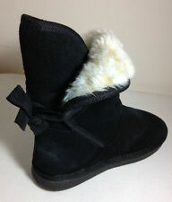 SoftMoc Girls' Ribbon  black casual boots Size.youth 4