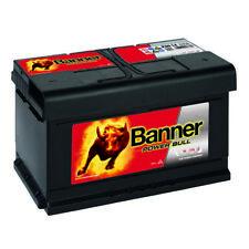 Banner POWER BULL 12V 80Ah P8014 Autobatterie PKW Starter Batterie statt 85Ah