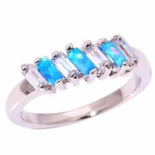 Topaz Oval Stone Costume Rings