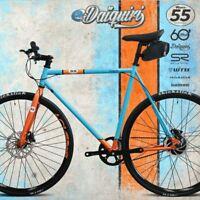 EBike Electric Bike 700c eDaiquiri RACE Single Speed Bicycle e-bike Size S 50cm