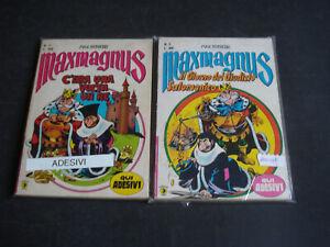 MAXMAGNUS 1/16 COMPLETA CON ADESIVI EDITORIALE CORNO 1979