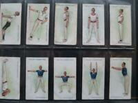 WILLS 1914 PHYSICAL CULTURE SET 50  GOOD VERY GOOD SEE ALL PHOTO's