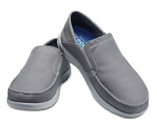 CROCS SANTA CRUZ  Convertible Men's shoes Slip-on Size 12 gray relaxed 204834