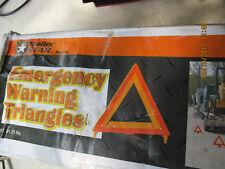 TRAILER STAR Emergency Warning Triple Reflective Triangle Kit