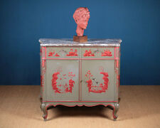 Early 20th.c. French Marble Top Side Cabinet c.1930