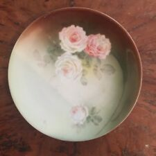 Antique RS Germany Rose Flower Plate