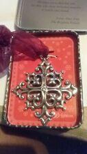 Brighton Snowflake Christmas Ornament