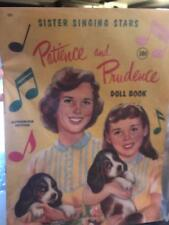 Patience and Prudence- Paper Doll Collection-Full Color