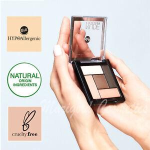 Bell HYPOAllergenic NUDE Eyeshadow Palette SATIN & CREAMY Make Up Kit Set 5g