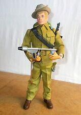 vintage Palitoy ACTION MAN vam - nice AUSTRALIAN JUNGLE FIGHTER 2nd issue - 70s