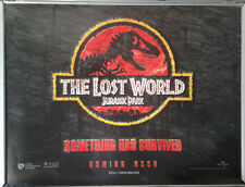 Cinema Poster: JURASSIC PARK THE LOST WORLD 1997 (Advance Quad) Jeff Goldblum