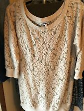 EXPRESS LADIES LACE TOP LARGE