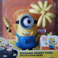 Despicable Me 3 Minions Deluxe Action Figure Banana Crazy Carl Toy Gift