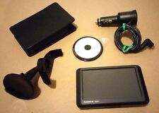 """GARMIN NUVI 265W 4.3"""" GPS BLUETOOTH SET IN PERFECT WORKING CONDITION - TESTED"""