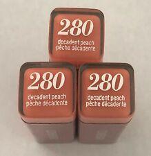 (3) Covergirl Colorlicious Lipstick, 280 Decadent Peach