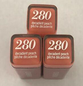 (3) THREE Covergirl Colorlicious Lipstick, 280 Decadent Peach