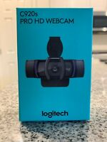 Logitech 960-001251 C920s Pro HD 1080p Webcam with Privacy Shutter **IN HAND**