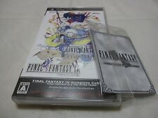 W/CARD Japanese English Subtitles Ver PSP Final Fantasy IV Complete Collection