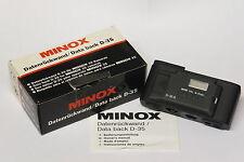 Minox Data Back/dati parete posteriore d-35 per GT-i/GSE/GT merce nuova in scatola originale 69321