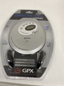 GPX Portable CD Player With Car Kit Jogger  ESP CD-RW Sealed